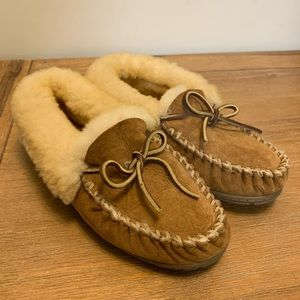 NWOT LL Bean | Wicked Good Sheepskin Moccasins